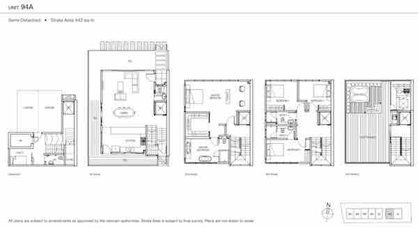 Urban Villas Semi D Floor Plan