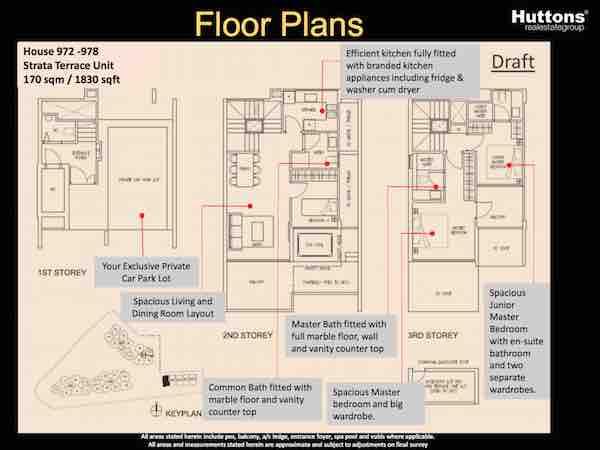 Stars of Kovan Floor Plan