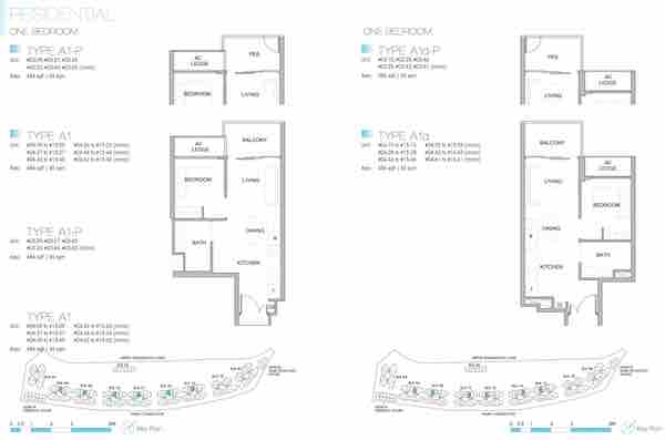 Kingsford Waterbay Floor Plan