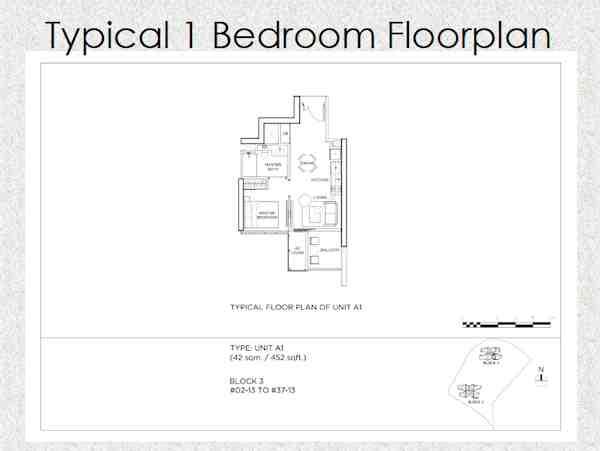 GEM Residences Floor plan
