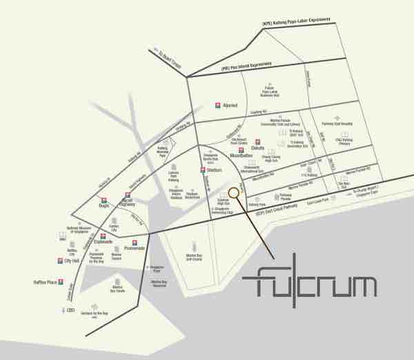 The Fulcrum Condo Location