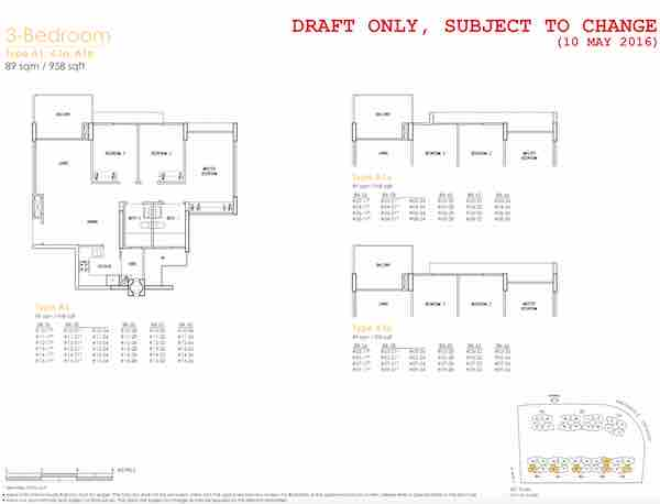 Treasure Crest Floor Plan