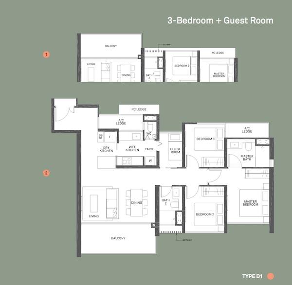 Clement Canopy Floor Plan