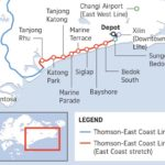The forthcoming Thomson East Coast Line to link to Changi airport