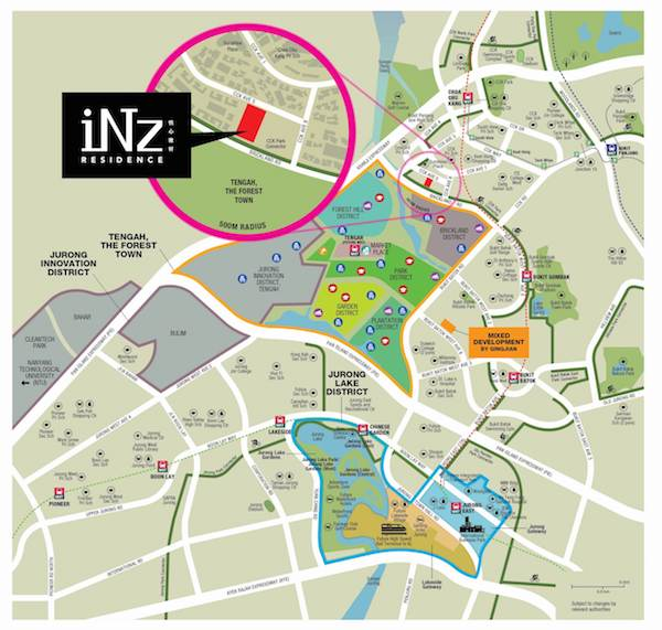 INZ Residence Location