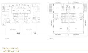 Chancery Hill Villas Floor Plan