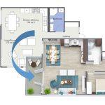 Twin Vew Floor Plan