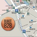 Bukit 828 Location