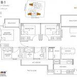 Mont Botanik Residence Floor Plan