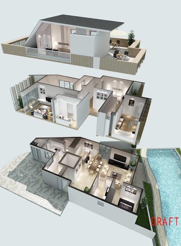 White Cove Floor Plan